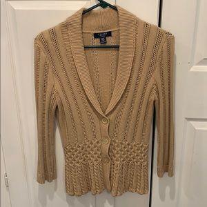 3/4 sleeve stylish cardigan